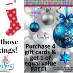 Holiday treats at Yum Yo's at Pinnacle Hills Promenade
