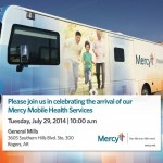 Check out Mercy's new mobile health bus!