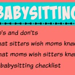 Mamas on Magic 107.9: Babysitter Do's and Don't's
