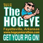 Giveaway: Four 5K registrations for the Hogeye Marathon