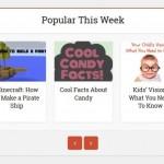 Website for kids, created by kids: Ponder Monster