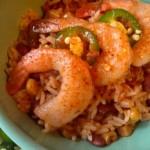 Mealtime Mama: Shrimp & Spanish Rice Bowl