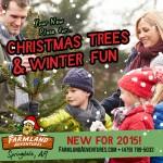 Farmland Adventures now has fresh Christmas Trees + fun farm activities!