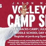 New volleyball camps announced at the UofA for beginners and experienced players!