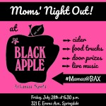We're hosting a Moms' Night Out at Black Apple Crossing and you're invited!