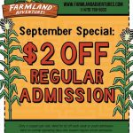 Northwest Arkansas Fall fun at Farmland Adventures + a coupon!