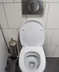 public restroom toilet