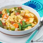30-Minute Veggie Tortellini Soup Recipe from Produce for Kids