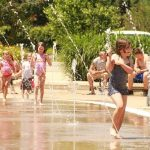 Outings Under $20: Rock and Splash concerts at the Lawrence Plaza splash pad