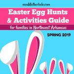 2019 Northwest Arkansas Easter Egg Hunts & Activities Guide for Kids