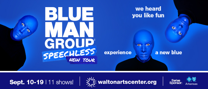 Blue Man Group, WAC, 2019