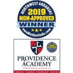 Providence Academy voted Best Private School in 2019 Mom-Approved Awards