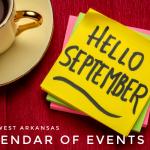 Northwest Arkansas Calendar of Events: September 2020