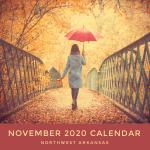 Northwest Arkansas Calendar of Events: November 2020