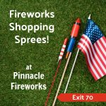 Giveaway: Win fireworks shopping spree at Pinnacle Fireworks!